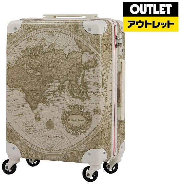 【送料無料】 レジェンドウォーカー 【アウトレット品】スーツケース トランク H032ベージュ地図柄 7500-46-BEMAP 32L【外装不良品】750046BEMAP 【kk9n0d18p】