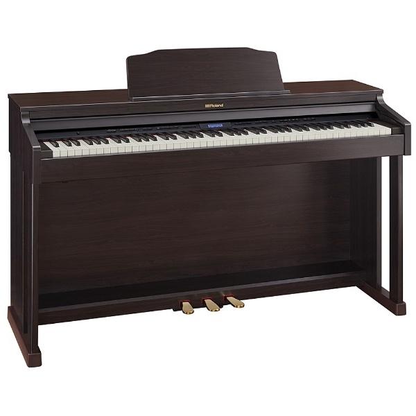 【標準設置費込み】 ローランド HP601-CRS 電子ピアノ クラシックローズウッド調仕上げ [88鍵盤]