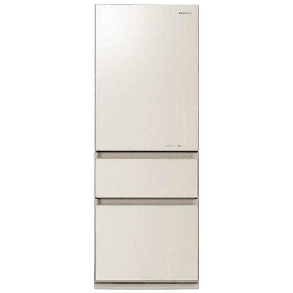 【標準設置費込み】 パナソニック Panasonic NR-C32HGM-N 冷蔵庫 クリアシャンパン [3ドア /右開きタイプ /315L][NRC32HGM_N] panasonic
