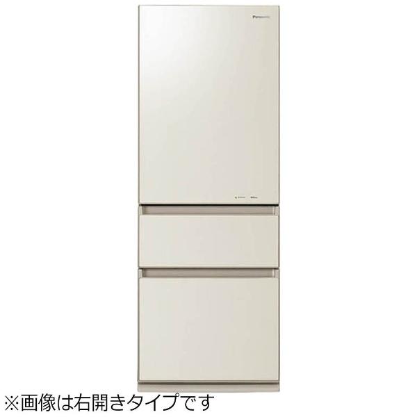 【標準設置費込み】 パナソニック Panasonic NR-C32HGML-N 冷蔵庫 クリアシャンパン [3ドア /左開きタイプ /315L][NRC32HGM_LN] panasonic