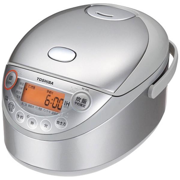 【送料無料】 東芝 TOSHIBA RC-6XL 炊飯器 シルバー [3.5合 /IH]