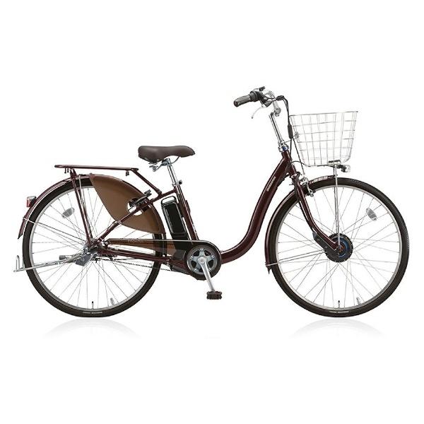 【送料無料】 ブリヂストン 26型 電動アシスト自転車 フロンティア デラックス(F.Xカラメルブラウン/内装3段変速) F6DB38【2018年モデル】【組立商品につき返品不可】 【代金引換配送不可】