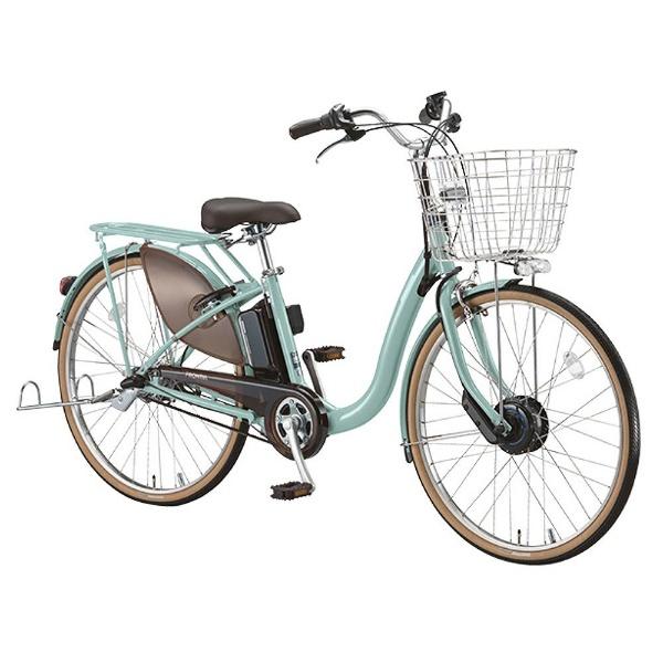 【送料無料】 ブリヂストン 24型 電動アシスト自転車 フロンティア デラックス(E.Xグレイッシュミント/内装3段変速) F4DB38【2018年モデル】【組立商品につき返品不可】 【代金引換配送不可】