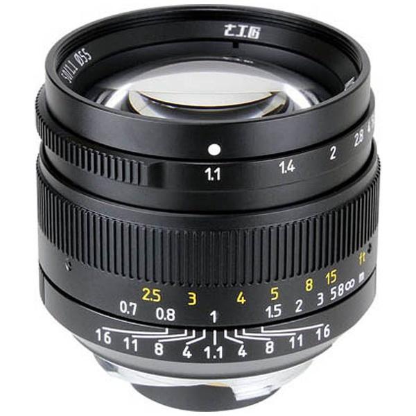 【送料無料】 七工匠 カメラレンズ 7artisans 50mm F1.1【ライカMマウント】(ブラック)