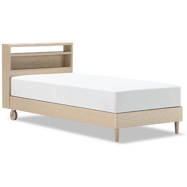 【送料無料】 フランスベッド 【フレーム】収納なし ピスコ21C-LG[レッグ](ショートサイズ/ミディアムブラウン)【日本製】 【代金引換配送不可】