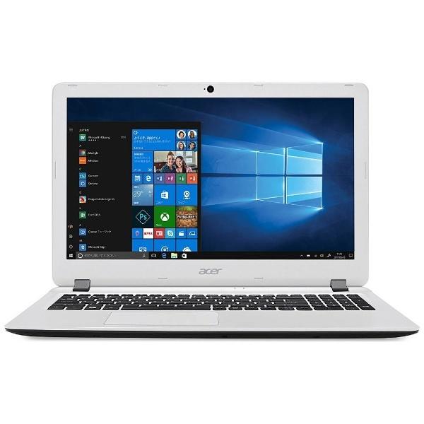 【送料無料】 ACER エイサー 15.6型ノートPC[Win10 Home・Celeron・HDD 500GB・メモリ 4GB]Aspire ES 15 コットンホワイト ES1-533-W14D/W[ES1533W14DW]