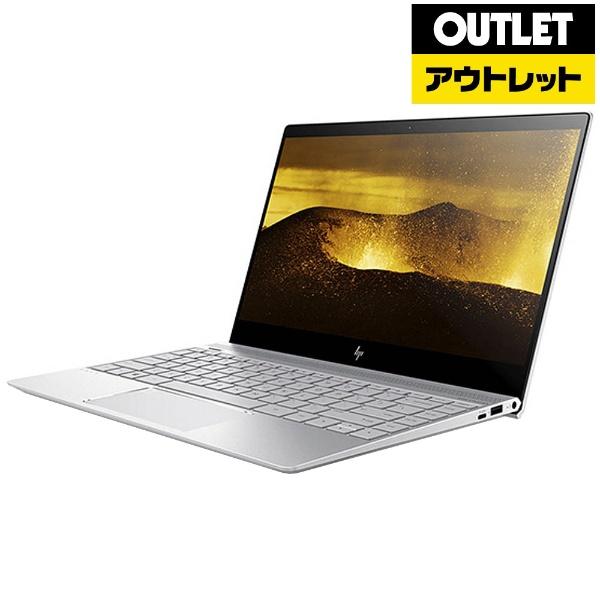 【送料無料】 HP ヒューレット・パッカード 【アウトレット品】13.3型ノートPC[Win10 Home・Core i3・SSD 256GB・メモリ 4GB]HP ENVY 13-ad009TU ナチュラルシルバー 2DP52PA-AAAF【生産完了品】【kk9n0d18p】
