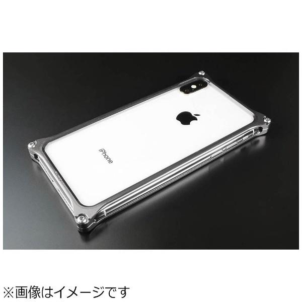 【送料無料】 GILDDESIGN ギルドデザイン iPhoneX ソリッドバンパー グレー