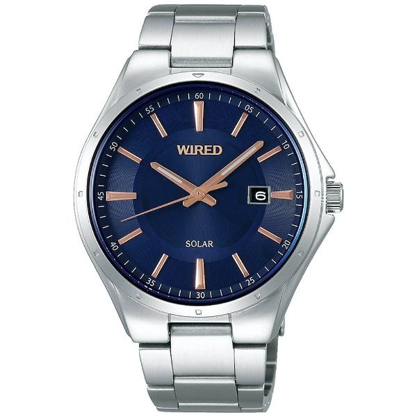 【送料無料】 アルバ [ソーラー時計]WIRED(ワイアード) 「ニュースタンダードモデル」 AGAD401
