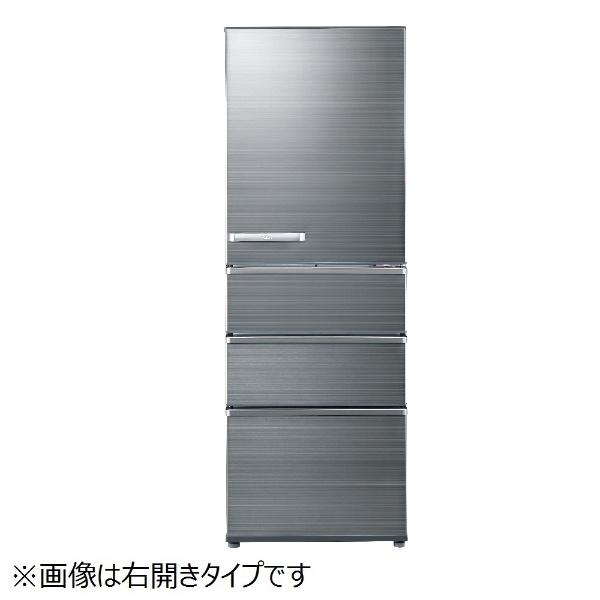 【標準設置費込み】 AQUA アクア AQR-SV36G-LS 冷蔵庫 チタニウムシルバー [4ドア /左開きタイプ /355L]