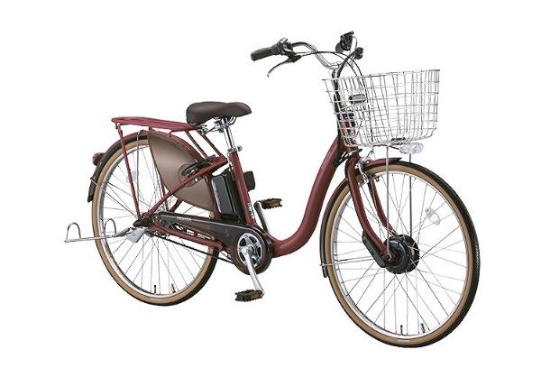 【送料無料】 ブリヂストン 26型 電動アシスト自転車 フロンティアロイヤル(F.Xベルベットローズ/内装3段変速) F6RB48【2018年モデル】【組立商品につき返品不可】 【代金引換配送不可】