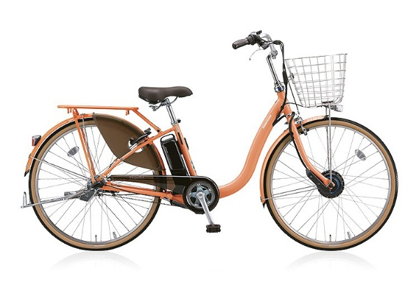 【送料無料】 ブリヂストン 24型 電動アシスト自転車 フロンティアロイヤル(E.Xサニーピンク/内装3段変速) F4RB48【2018年モデル】【組立商品につき返品不可】 【代金引換配送不可】