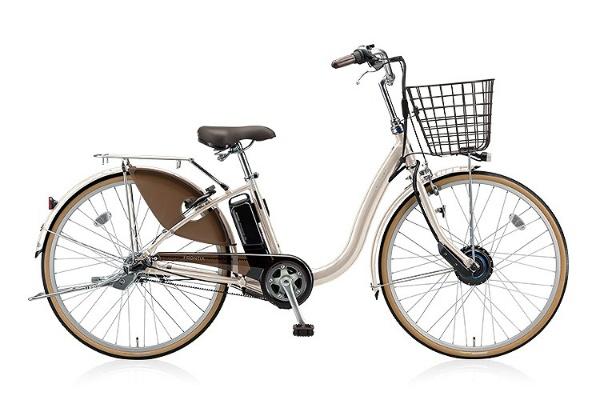 【送料無料】 ブリヂストン 26型 電動アシスト自転車 フロンティア(E.Xクリームアイボリー/内装3段変速) F6AB28【2018年モデル】【組立商品につき返品不可】 【代金引換配送不可】