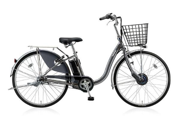【送料無料】 ブリヂストン 24型 電動アシスト自転車 フロンティア(M.XHスパークルシルバー/内装3段変速) F4AB28【2018年モデル】【組立商品につき返品不可】 【代金引換配送不可】