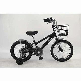 【送料無料】 サイモト自転車 16型 幼児用自転車 ベリーノ16(ブラック) KDーB16B-BMX【組立商品につき返品不可】 【代金引換配送不可】【メーカー直送・代金引換不可・時間指定・返品不可】