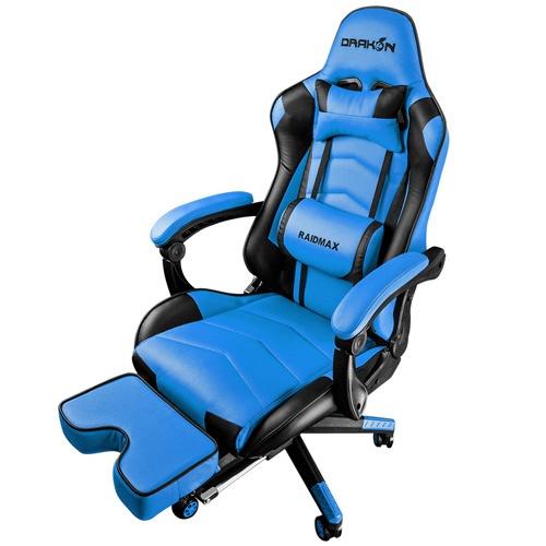 【送料無料】 RAIDMAX ゲーミングチェア DRAKON 709 BLUE DRAKON709BU