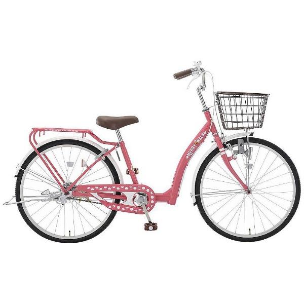 【送料無料】 アサヒサイクル 22型 子供用自転車 メリーウォーク22(ピンク/シングルシフト) CWJ22【2018年モデル】【組立商品につき返品不可】 【代金引換配送不可】【メーカー直送・代金引換不可・時間指定・返品不可】