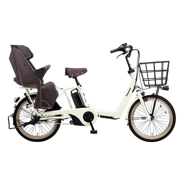 【送料無料】 パナソニック Panasonic 20型 電動アシスト自転車 ギュット・アニーズ・DX(オフオワイト/内装3段変速) BE-ELA03F【2018年モデル】【組立商品につき返品不可】 【代金引換配送不可】