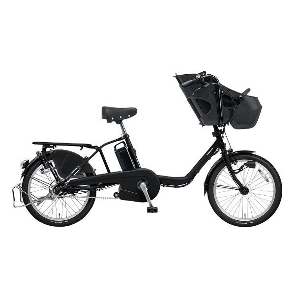 【送料無料】 パナソニック Panasonic 20型 電動アシスト自転車 ギュット・ミニ・DX(マットブラック/内装3段変速) BE-ELMD034B2【2018年モデル】【組立商品につき返品不可】 【代金引換配送不可】