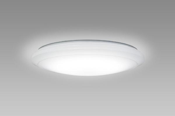 【送料無料】 NECライティング リモコン付LEDシーリングライト (~8畳) HLDCB08100SG 調光・調色(昼光色~電球色)[HLDCB08100SG]
