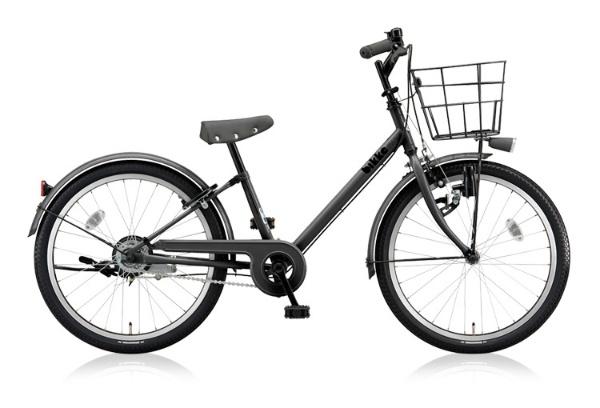 【送料無料】 ブリヂストン 22型 子供用自転車 bikke j(E.XBKダークグレー/シングル) BK22V【2018年モデル】【組立商品につき返品不可】 【代金引換配送不可】