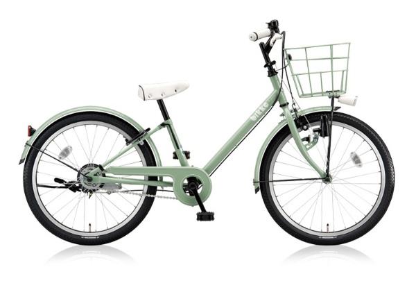 【送料無料】 ブリヂストン 22型 子供用自転車 bikke j(E.XBKグリーン/シングル) BK22V【2018年モデル】【組立商品につき返品不可】 【代金引換配送不可】