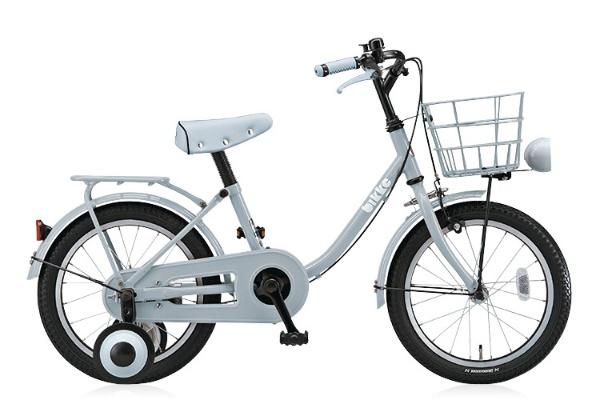 【送料無料】 ブリヂストン 16型 幼児用自転車 bikke m(E.XBKブルーグレー/シングル) BK16U【2018年モデル】【組立商品につき返品不可】 【代金引換配送不可】