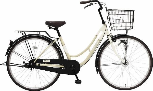 【送料無料】 MARUKIN 26型 自転車 ロマーナF HD 261-K(ホワイト/シングルシフト)【組立商品につき返品不可】 【代金引換配送不可】【メーカー直送・代金引換不可・時間指定・返品不可】