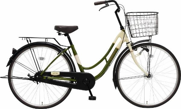 【送料無料】 MARUKIN 26型 自転車 ロマーナF HD 261-K(d-グリーン/シングルシフト)【組立商品につき返品不可】 【代金引換配送不可】【メーカー直送・代金引換不可・時間指定・返品不可】