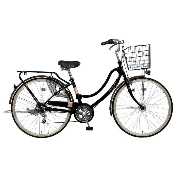 【送料無料】 ホダカ 27型 自転車 フロートミックス276-K(m-ブラック/シングルシフト)【組立商品につき返品不可】 【代金引換配送不可】【メーカー直送・代金引換不可・時間指定・返品不可】