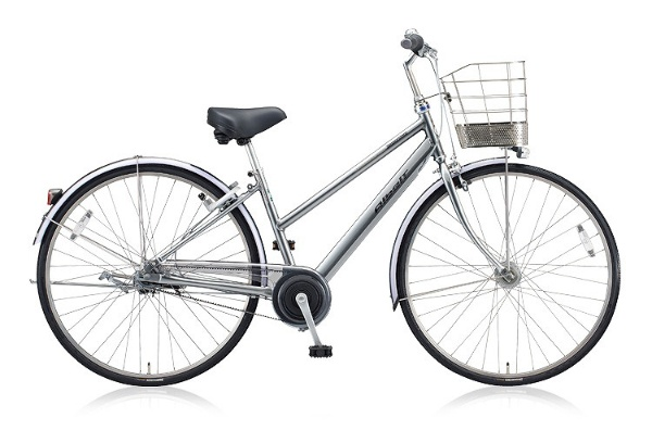 【送料無料】 ブリヂストン 26型 自転車 アルベルト S型(M.スパークシルバー/内装5段変速) ABS65 【2018年モデル】【組立商品につき返品不可】 【代金引換配送不可】