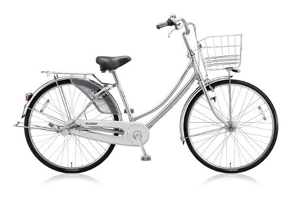 【送料無料】 ブリヂストン 27型 自転車 キャスロングDX W型(M.ブリリアントシルバー/内装3段変速) CD73WP 【2018年モデル】【組立商品につき返品不可】 【代金引換配送不可】