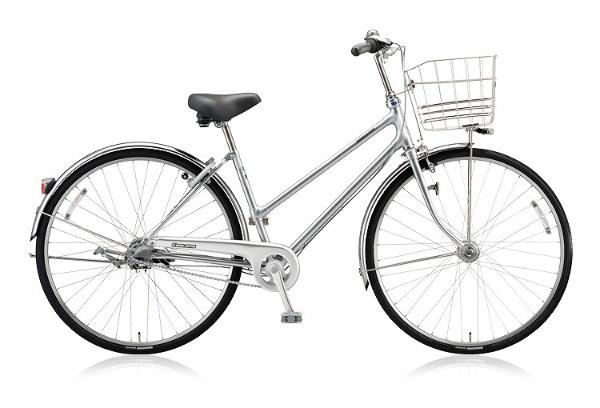 【送料無料】 ブリヂストン 27型 自転車 キャスロングDX S型(M.ブリリアントシルバー/内装3段変速) CD73SP 【2018年モデル】【組立商品につき返品不可】 【代金引換配送不可】