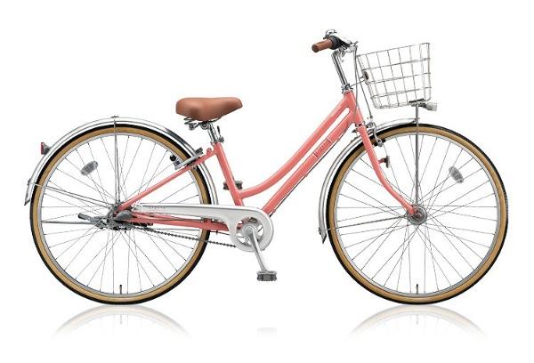 【送料無料】 ブリヂストン 26型 自転車 Lopeta(P.Xピーチピンク/内装3段変速) LP63T 【2018年モデル】【組立商品につき返品不可】 【代金引換配送不可】
