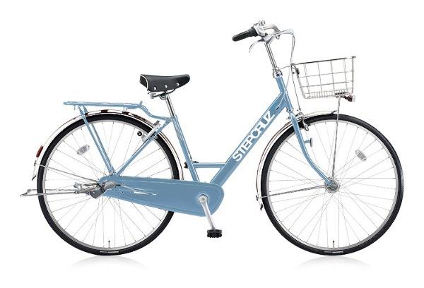 【送料無料】 ブリヂストン 27型 自転車 STEP CRUZ DX(E.XHブルーグレイ/内装3段変速) ST7TP 【2018年モデル】【組立商品につき返品不可】 【代金引換配送不可】