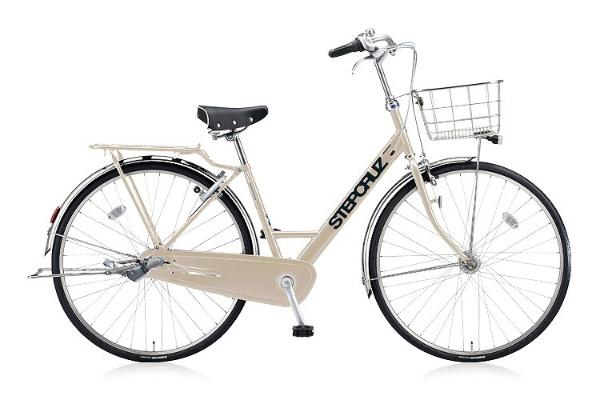 【送料無料】 ブリヂストン 27型 自転車 STEP CRUZ DX(E.Xミルクティーベージュ/内装3段変速) ST7TP 【2018年モデル】【組立商品につき返品不可】 【代金引換配送不可】