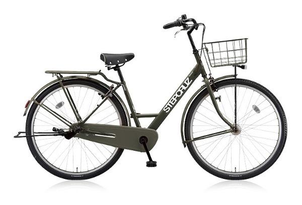 【送料無料】 ブリヂストン 700×45C型 自転車 STEP CRUZ(T.Xマットカーキ/内装3段変速) ST73T 【2018年モデル】【組立商品につき返品不可】 【代金引換配送不可】