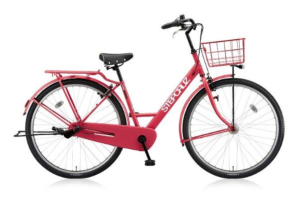 【送料無料】 ブリヂストン 700×45C型 自転車 STEP CRUZ(E.Xチェリーローズ/内装3段変速) ST73T 【2018年モデル】【組立商品につき返品不可】 【代金引換配送不可】