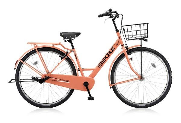 【送料無料】 ブリヂストン 26型 自転車 STEP CRUZ(E.Xサニーピンク/シングルシフト) ST60T 【2018年モデル】【組立商品につき返品不可】 【代金引換配送不可】