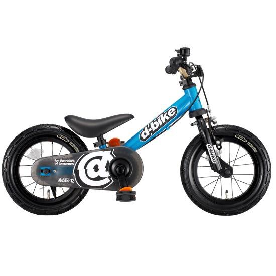 【送料無料】 アイデス 12型 ランニングバイク D-Bike Master(シアン) 3393【組立商品につき返品不可】 【代金引換配送不可】【メーカー直送・代金引換不可・時間指定・返品不可】
