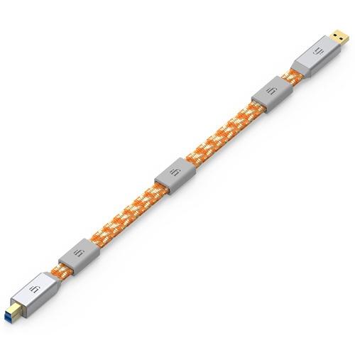 【送料無料】 IFIAUDIO USBオーディオケーブルMercury3.0_USB2.0_1.0m Mercury3.0_USB2.0_1.0m