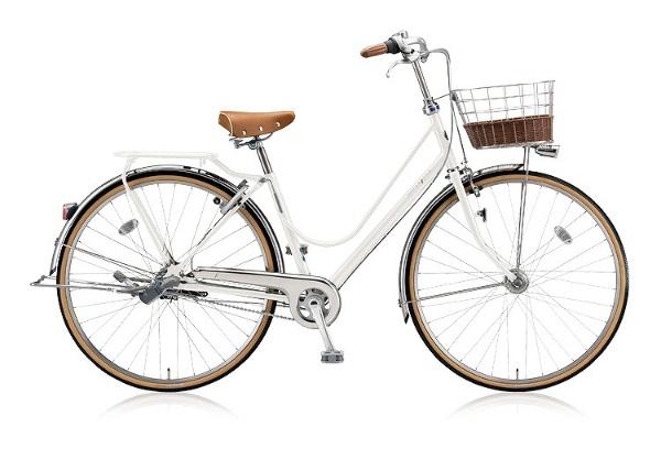 【送料無料】 ブリヂストン 26型 自転車 カジュナDX ベーシックライン(E.XBKホワイト/内装3段変速) CJB6TP【2018年モデル】【組立商品につき返品不可】 【代金引換配送不可】