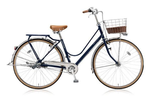 【送料無料】 ブリヂストン 26型 自転車 カジュナDX ベーシックライン(E.Xアメリカンブルー/内装3段変速) CJB6TP【2018年モデル】【組立商品につき返品不可】 【代金引換配送不可】