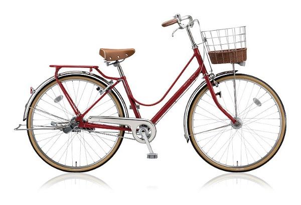 【送料無料】 ブリヂストン 26型 自転車 カジュナ ベーシックライン(E.Xモダンレッド/内装3段変速) CJB63T【2018年モデル】【組立商品につき返品不可】 【代金引換配送不可】
