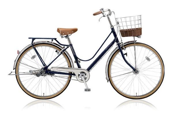 【送料無料】 ブリヂストン 26型 自転車 カジュナ ベーシックライン(E.Xアメリカンブルー/内装3段変速) CJB63T【2018年モデル】【組立商品につき返品不可】 【代金引換配送不可】