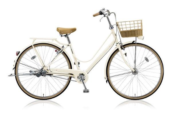 【送料無料】 ブリヂストン 27型 自転車 カジュナDX スイートライン(E.Xエッグシェルベージュ/内装3段変速) CJS7TP【2018年モデル】【組立商品につき返品不可】 【代金引換配送不可】