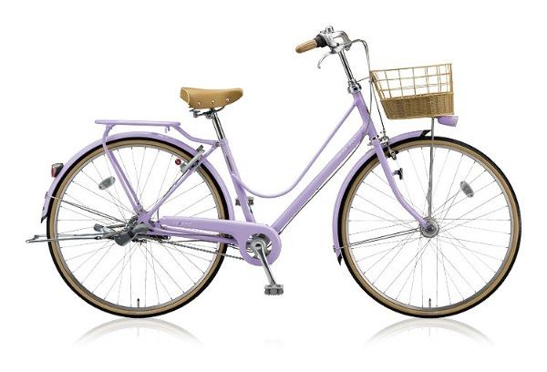 【送料無料】 ブリヂストン 27型 自転車 カジュナDX スイートライン(E.Xスイートラベンダー/内装3段変速) CJS7TP【2018年モデル】【組立商品につき返品不可】 【代金引換配送不可】