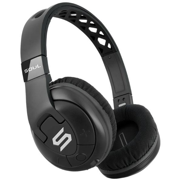 【送料無料】 SOUL ブルートゥースヘッドホン X-TRA Black ブラック [Bluetooth]
