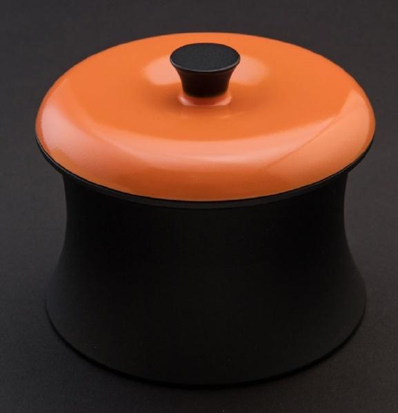 【送料無料】 ANAORI CARBON COCOTTERINGO スパニッシュオレンジ ≪IH対応≫ カーボン製小型鍋 「COCOTTE RINGO(ココット リンゴ)」(0.55L) RG001SO スパニッシュオレンジ