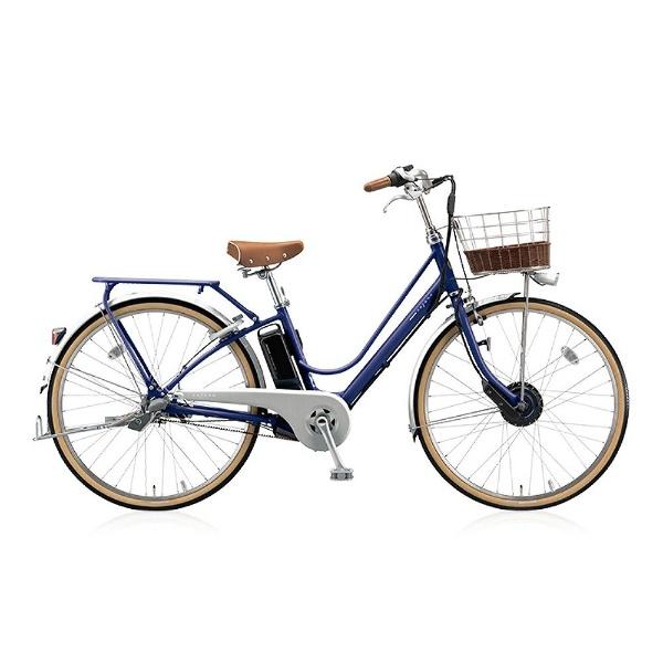 【送料無料】 ブリヂストン 26型 電動アシスト自転車 カジュナe ベーシックライン(E.Xアメリカンブルー/内装3段変速) CB6B48【2018年モデル】【組立商品につき返品不可】 【代金引換配送不可】